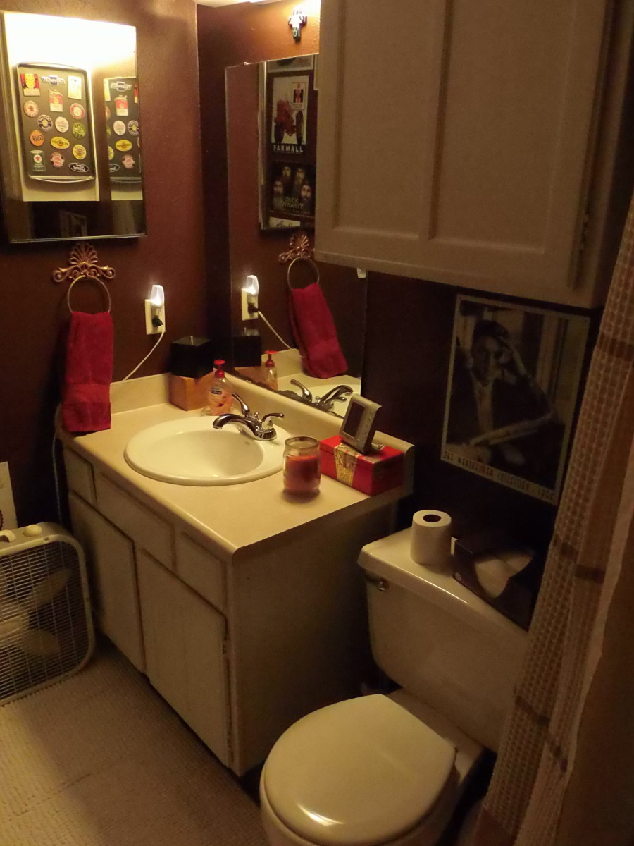 With a little paint and imagination, you can create a Men's Room that reflects your own style and personality.