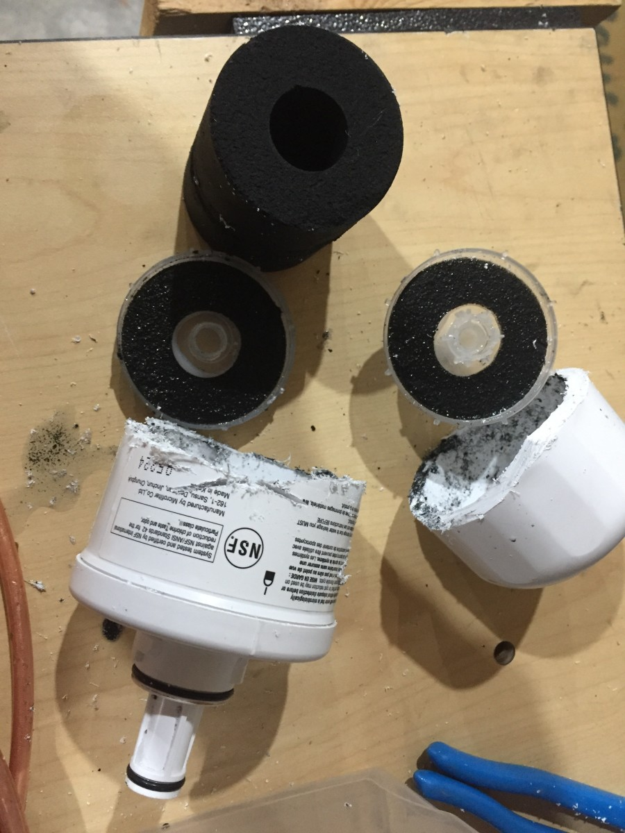 The Guts of a Water Filter