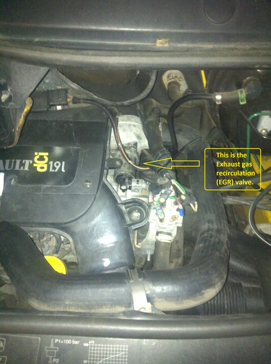 how to remove  clean or bypass the egr valve on trafic