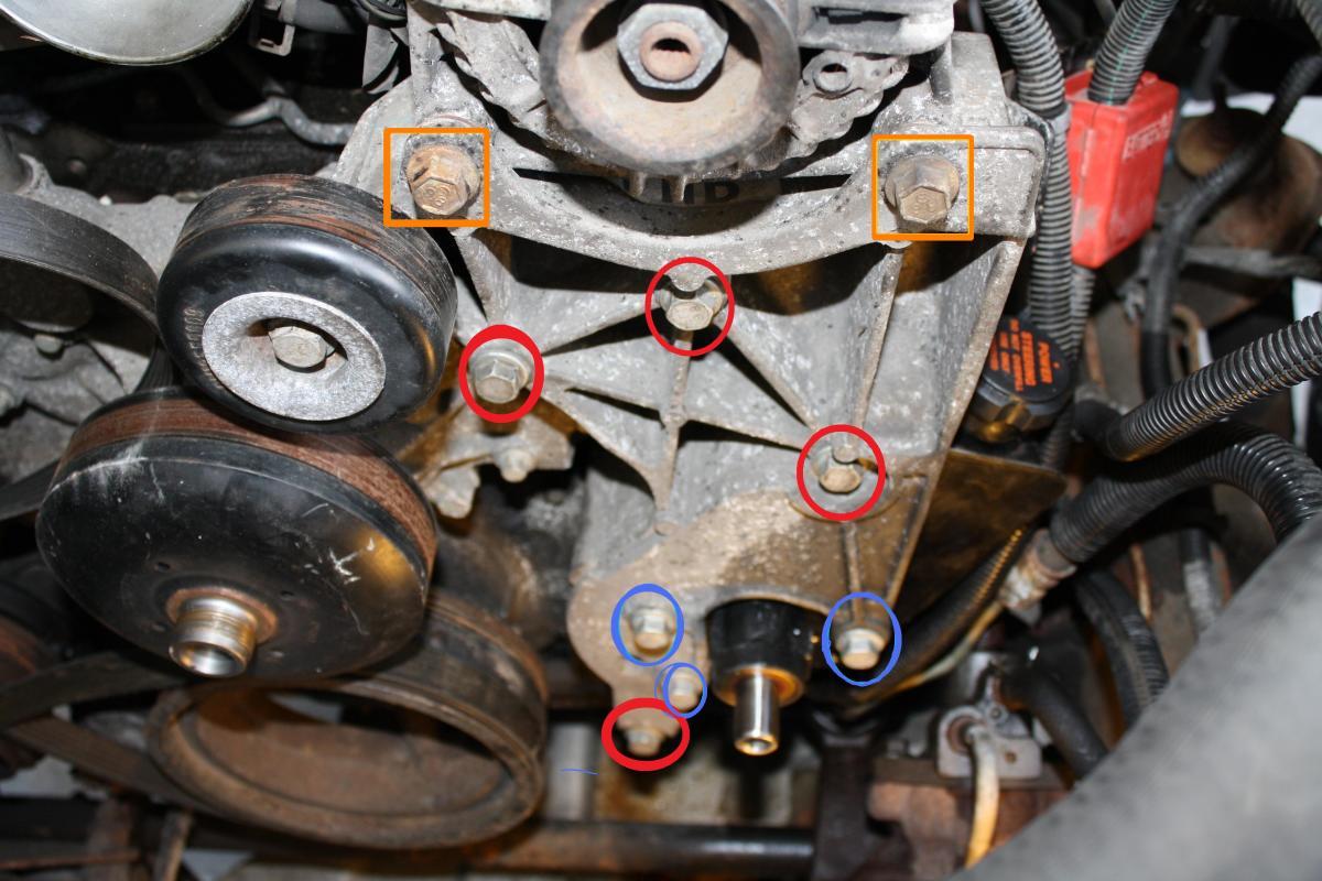 Alternator / PS Pump bracket
