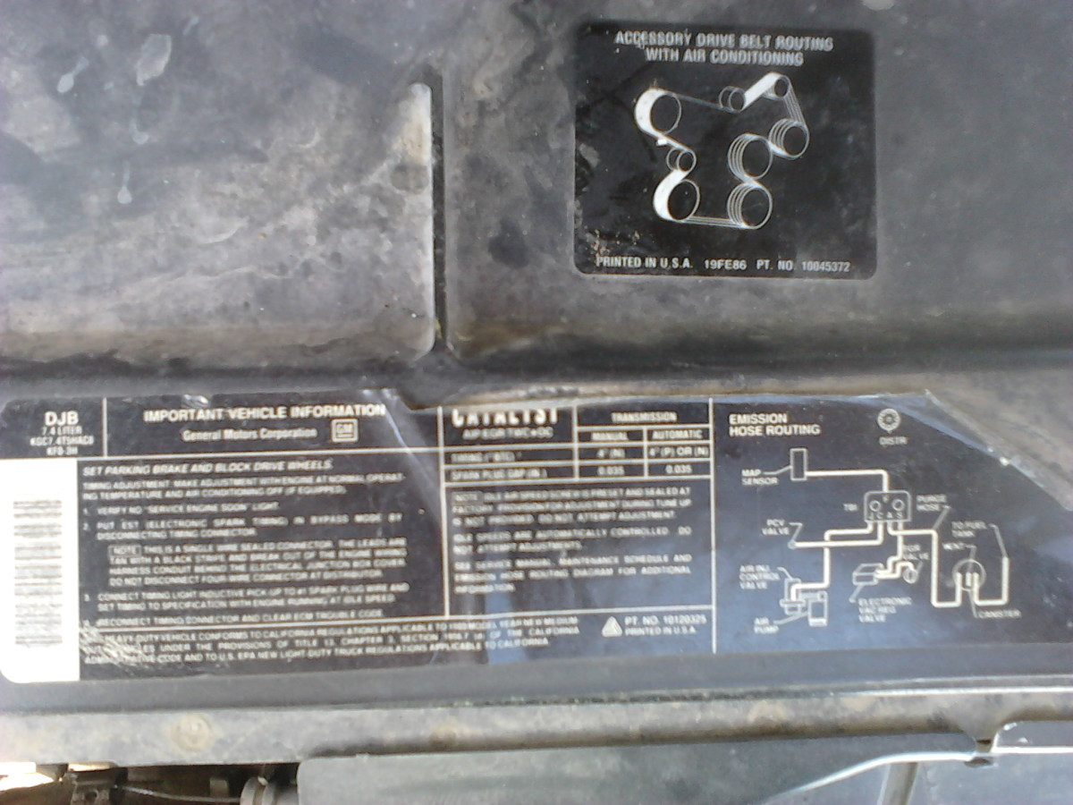 Engine Label