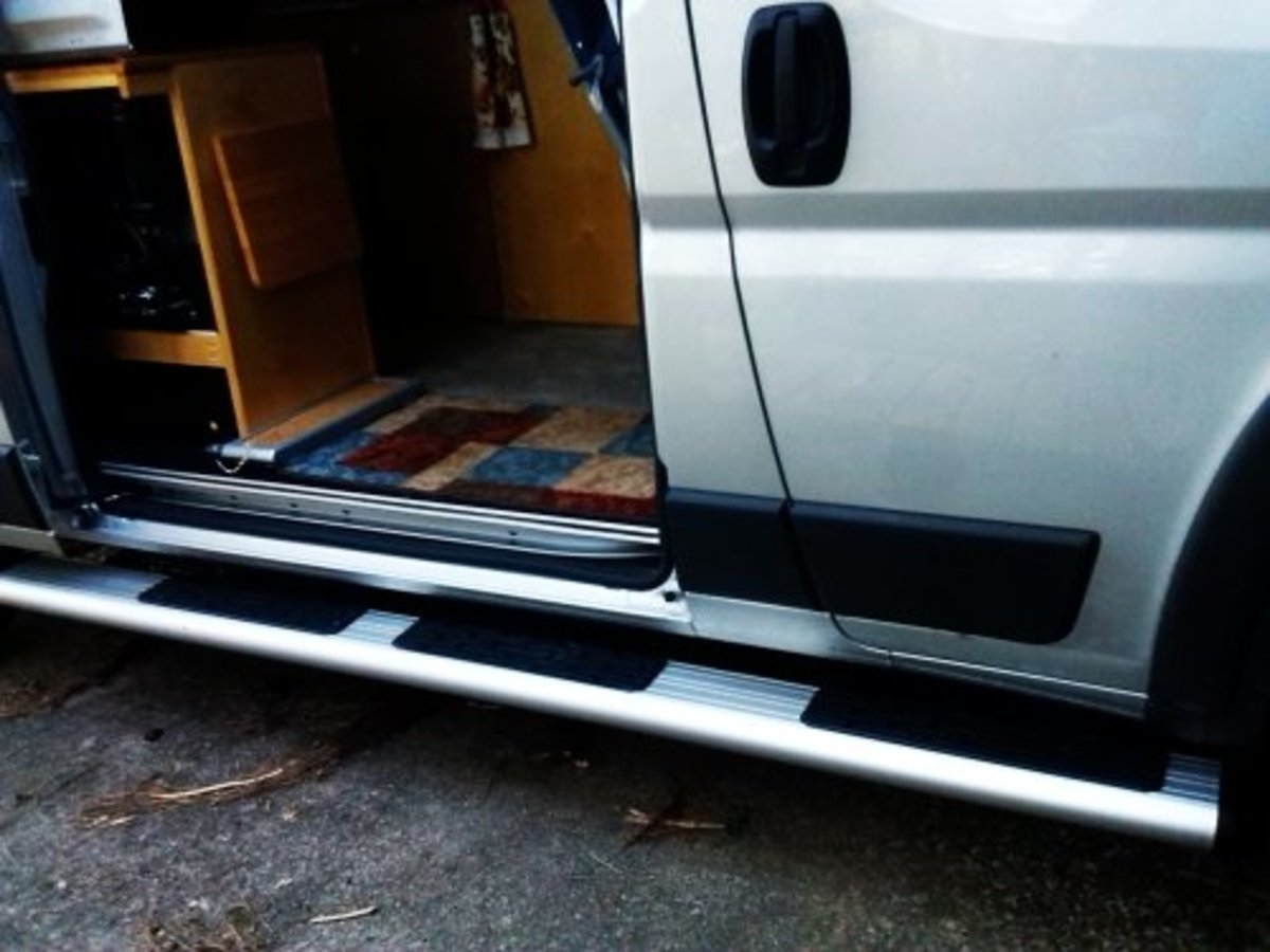Running Boards for the Promaster Van