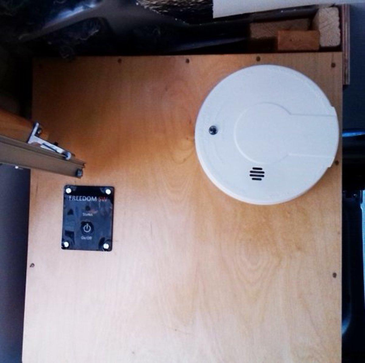 Inverter Remote and Smoke Detector
