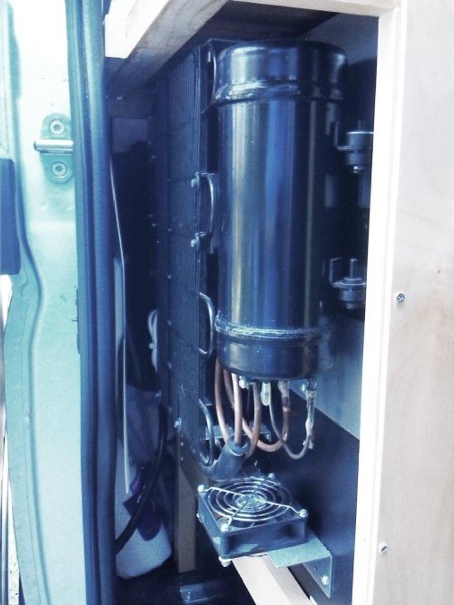 Refrigerator Back