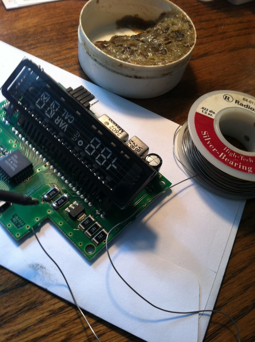 Soldering flux and quality fine silver-bearing solder are critical to a solid joint.