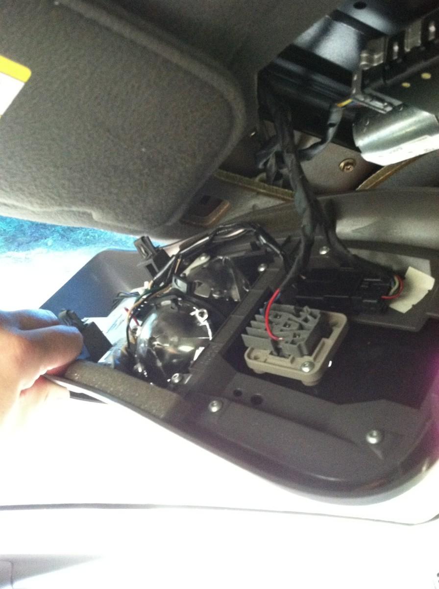 2001 Ford Explorer Sportrac Overhead Console.