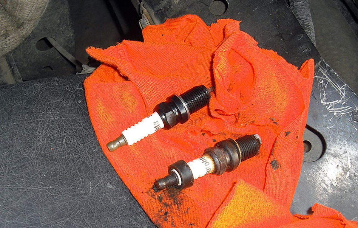 Remove and check each spark plug if your find a fault in the ignition system.