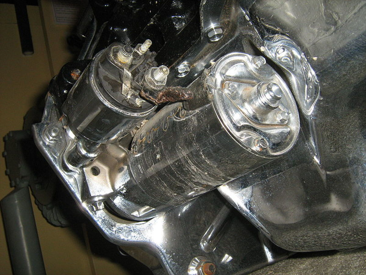 Starter motor issues can make the engine hard to start whether cold or hot.