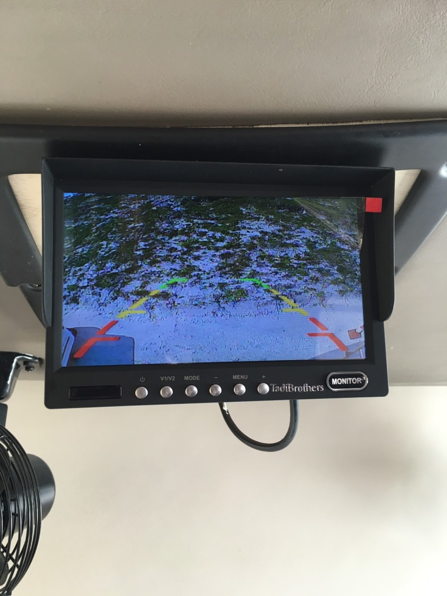 How to upgrade your old RV Rear Camera System to a color system.