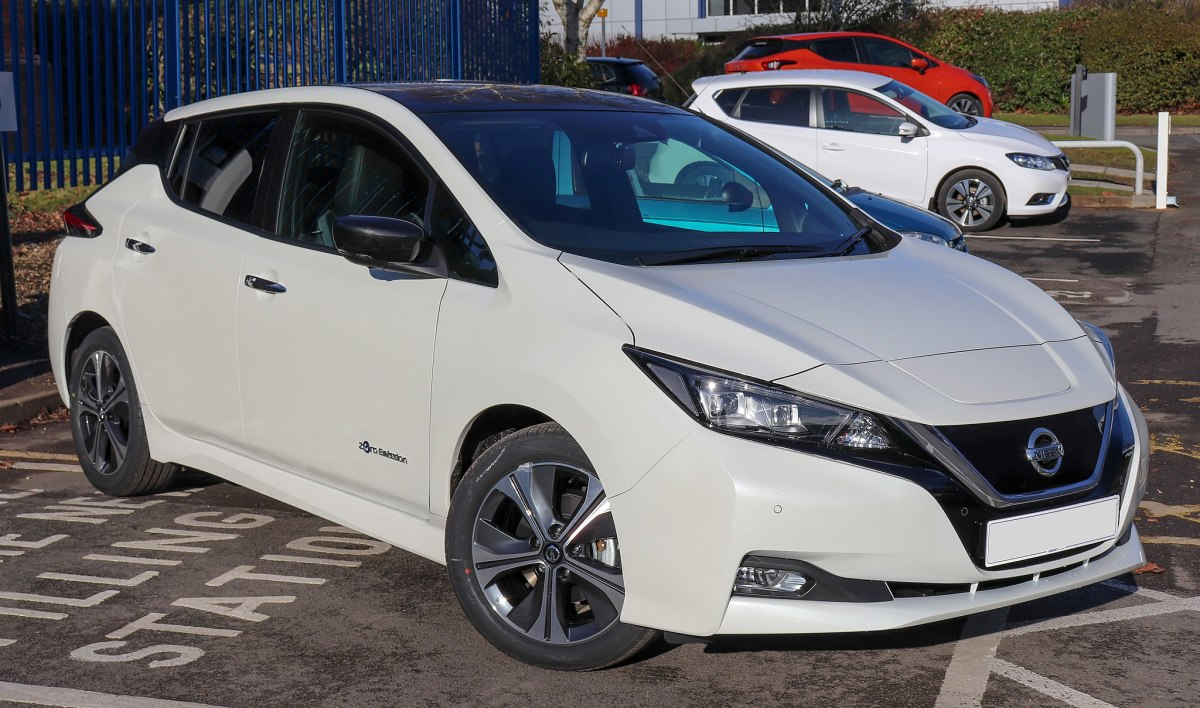 Nissan Leaf - one of the top-selling electric cars