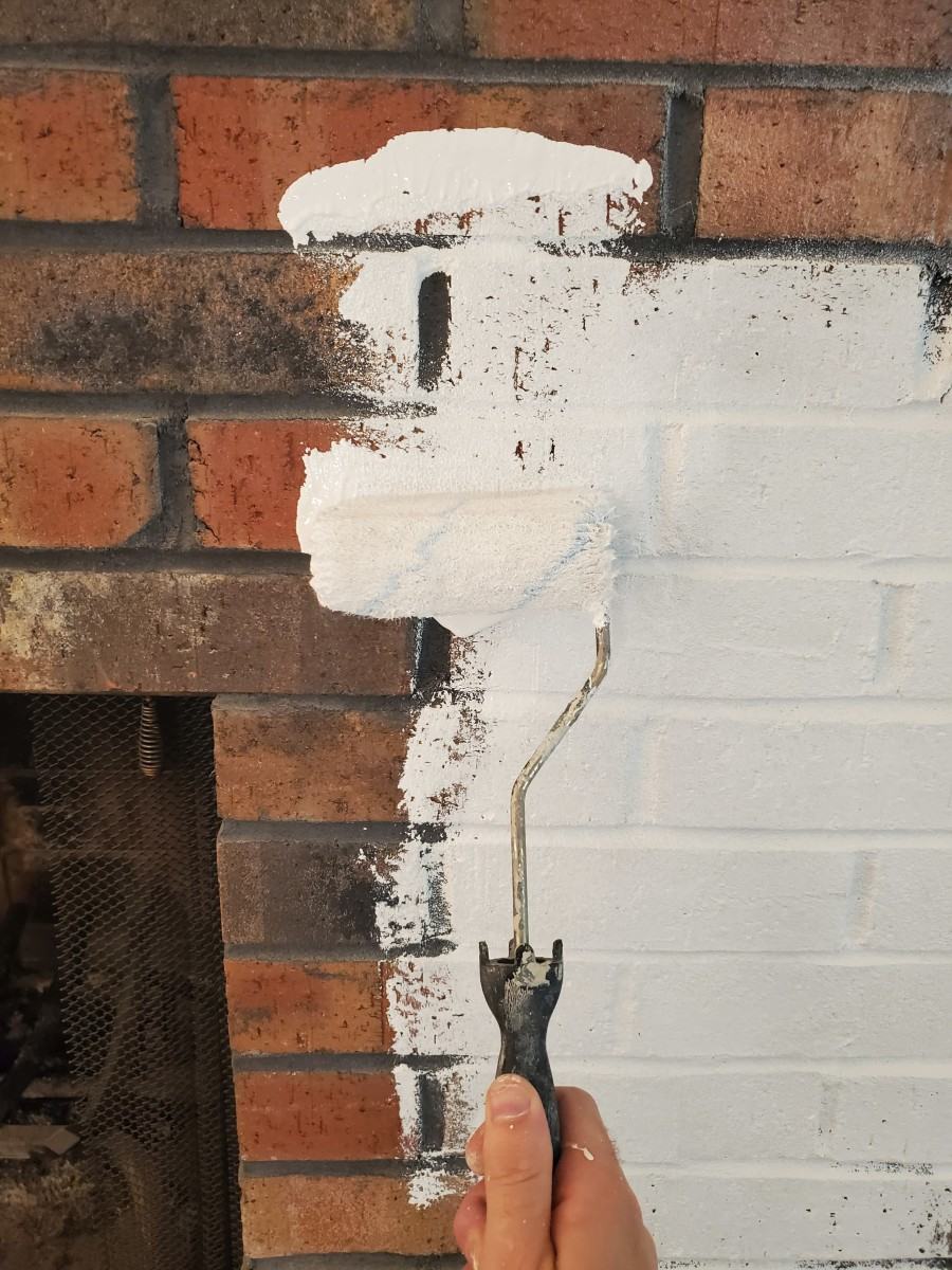 Tips for Painting Fireplace Brick White