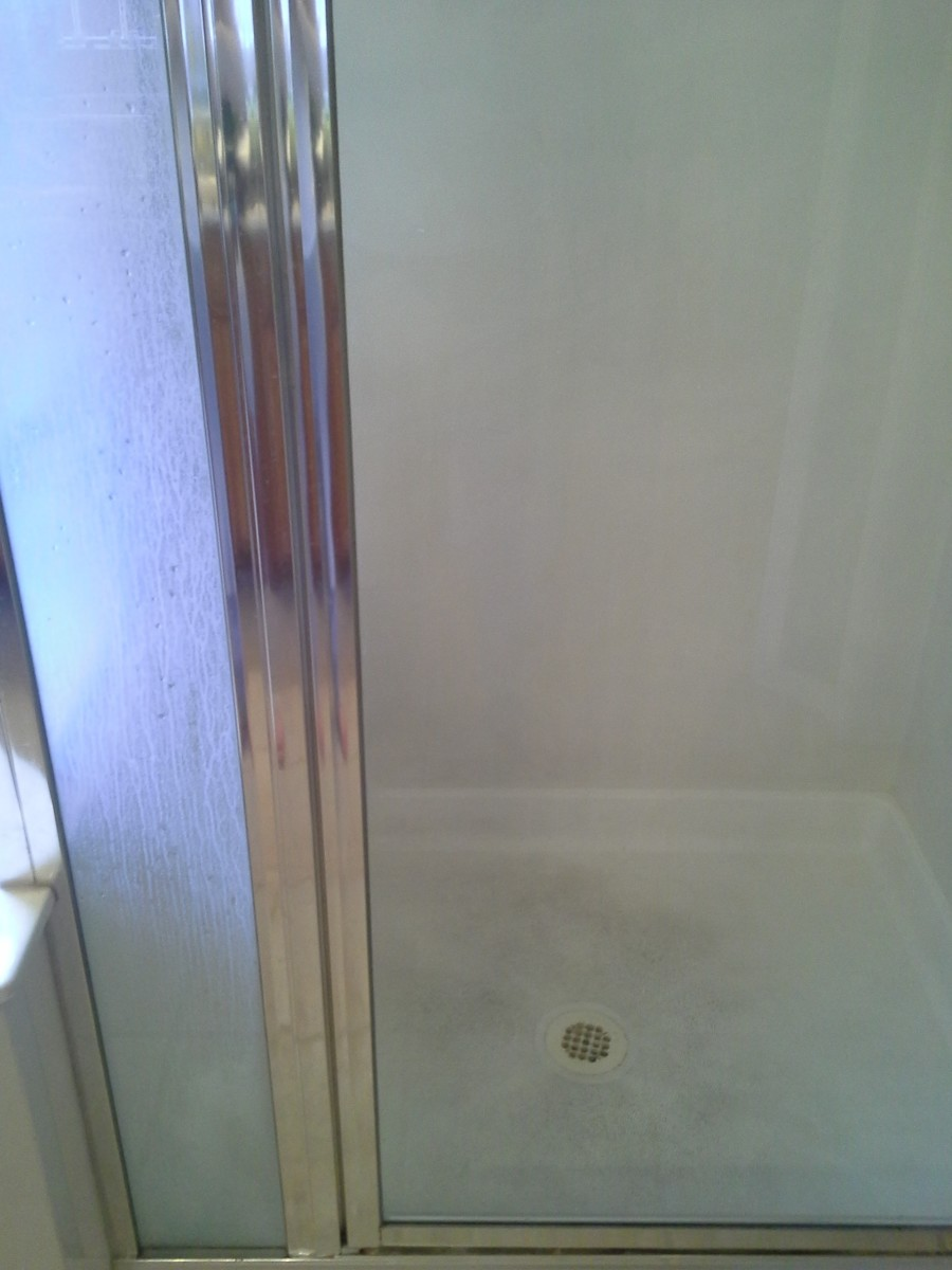 How to Get Rid of Water Spots - Clean Door!