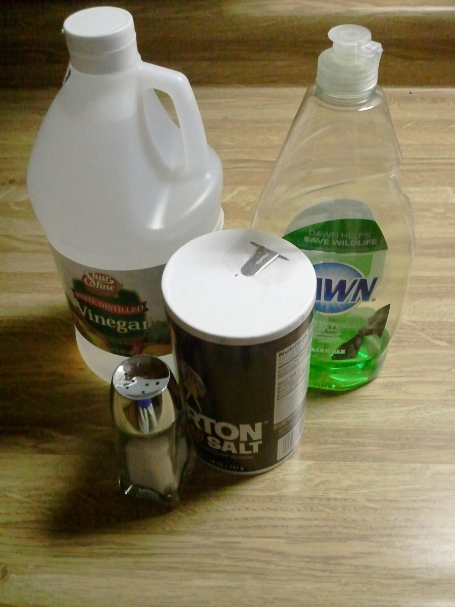 Vinegar can be used in combination with other household items to create weed killer solutions.