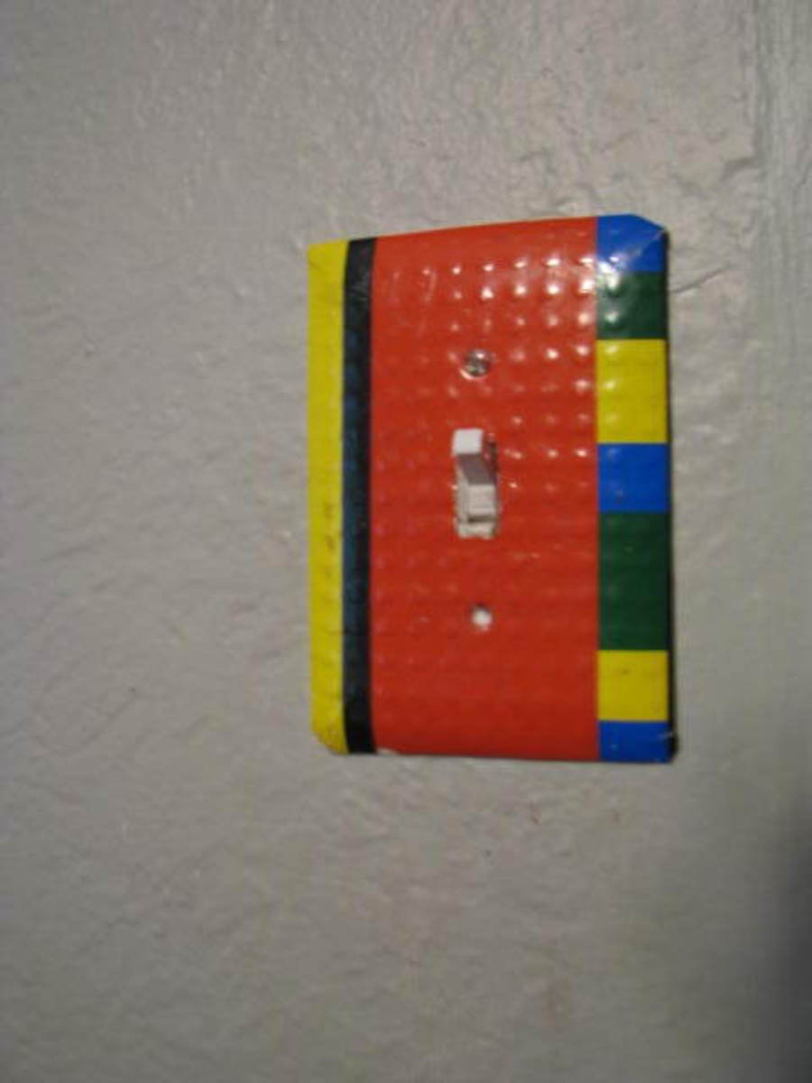 Lego light switch.