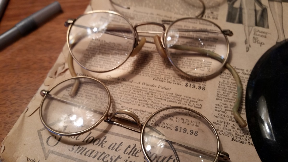 Vintage Glasses . . . Do You Need to Save Those?