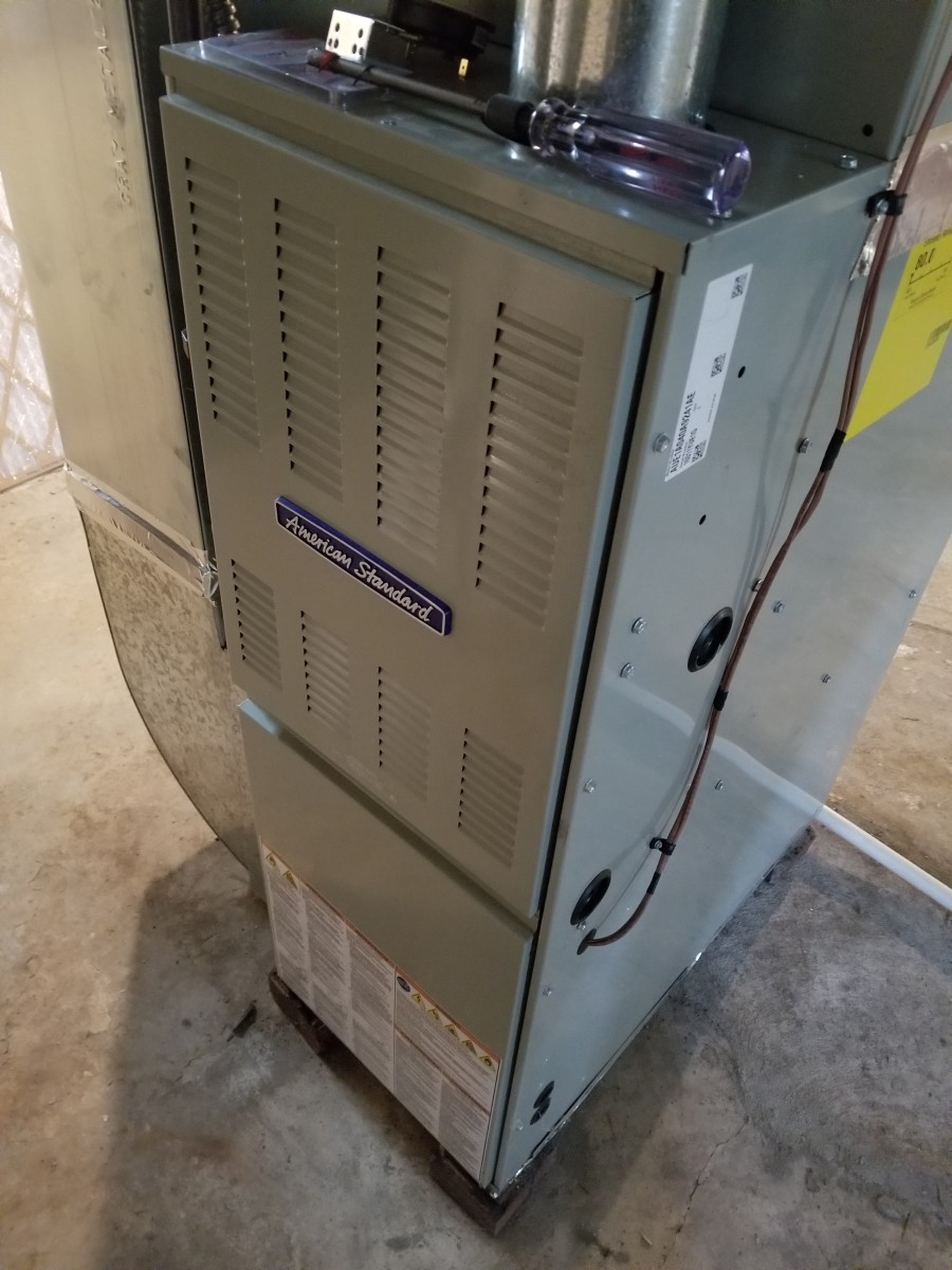 The back panel of your furnace should come off and expose a series of parts and wires that you will be able to access.