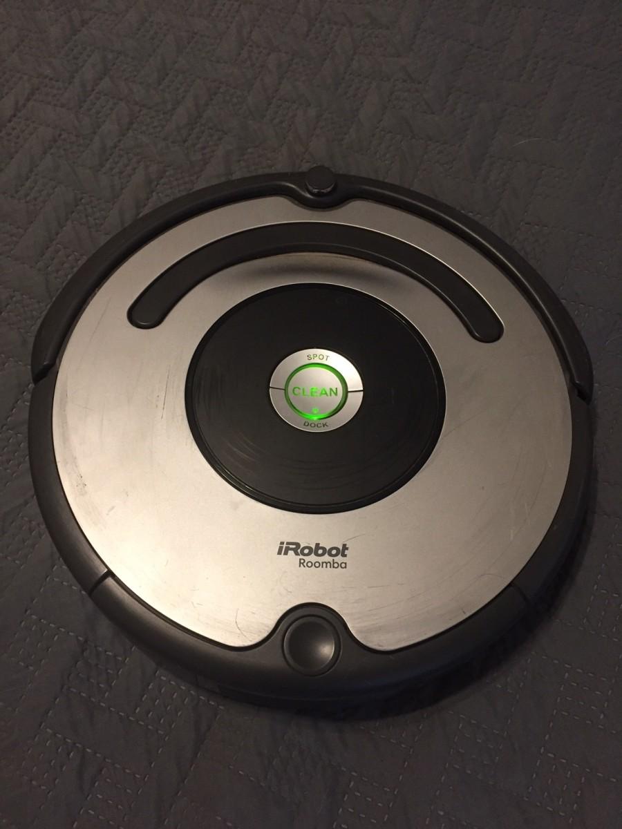 Hazel, my robot vacuum