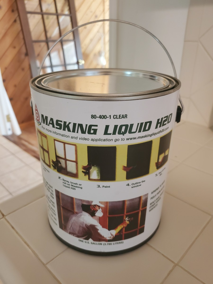 My Review of Masking Liquid H20 for Painting Window Trim