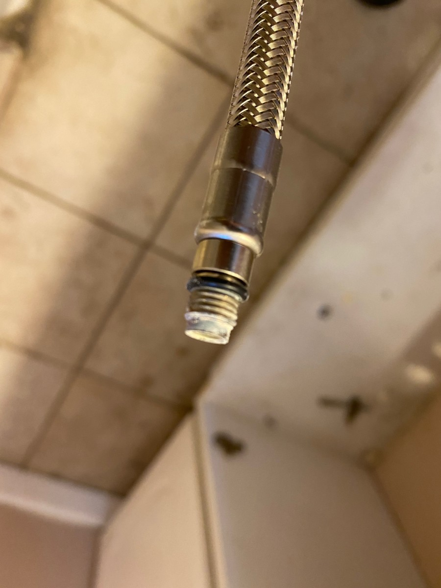 The Faucet End of an Ikea Hose