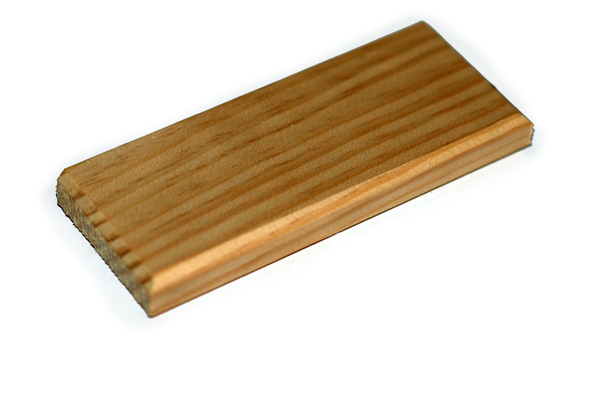 Ledge with rounded edges