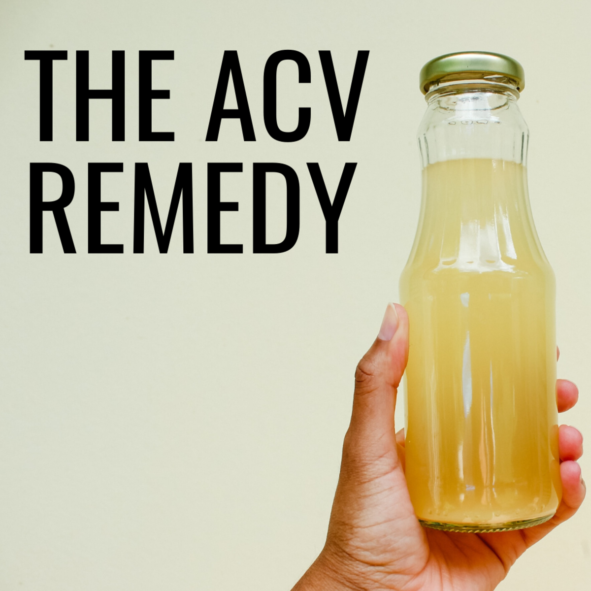 Apple cider vinegar is an excellent remedy when diluted properly.