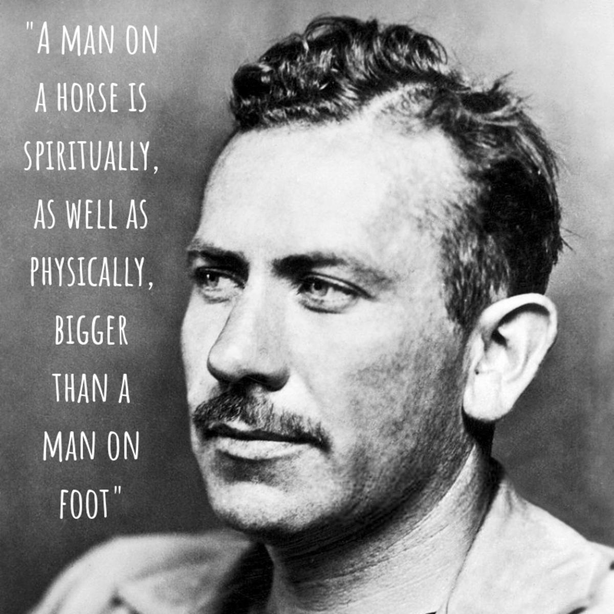 John Steinbeck on horses