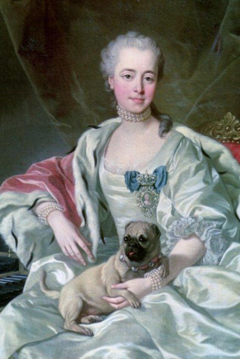 Portrait of Princess Ekaterina Dmitrievna Golitsyna by Louis-Michel van Loo (1759)  Wikipedia Commons