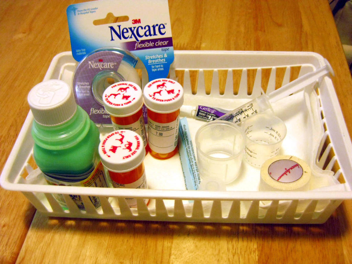 The post-hospitalization medication tray
