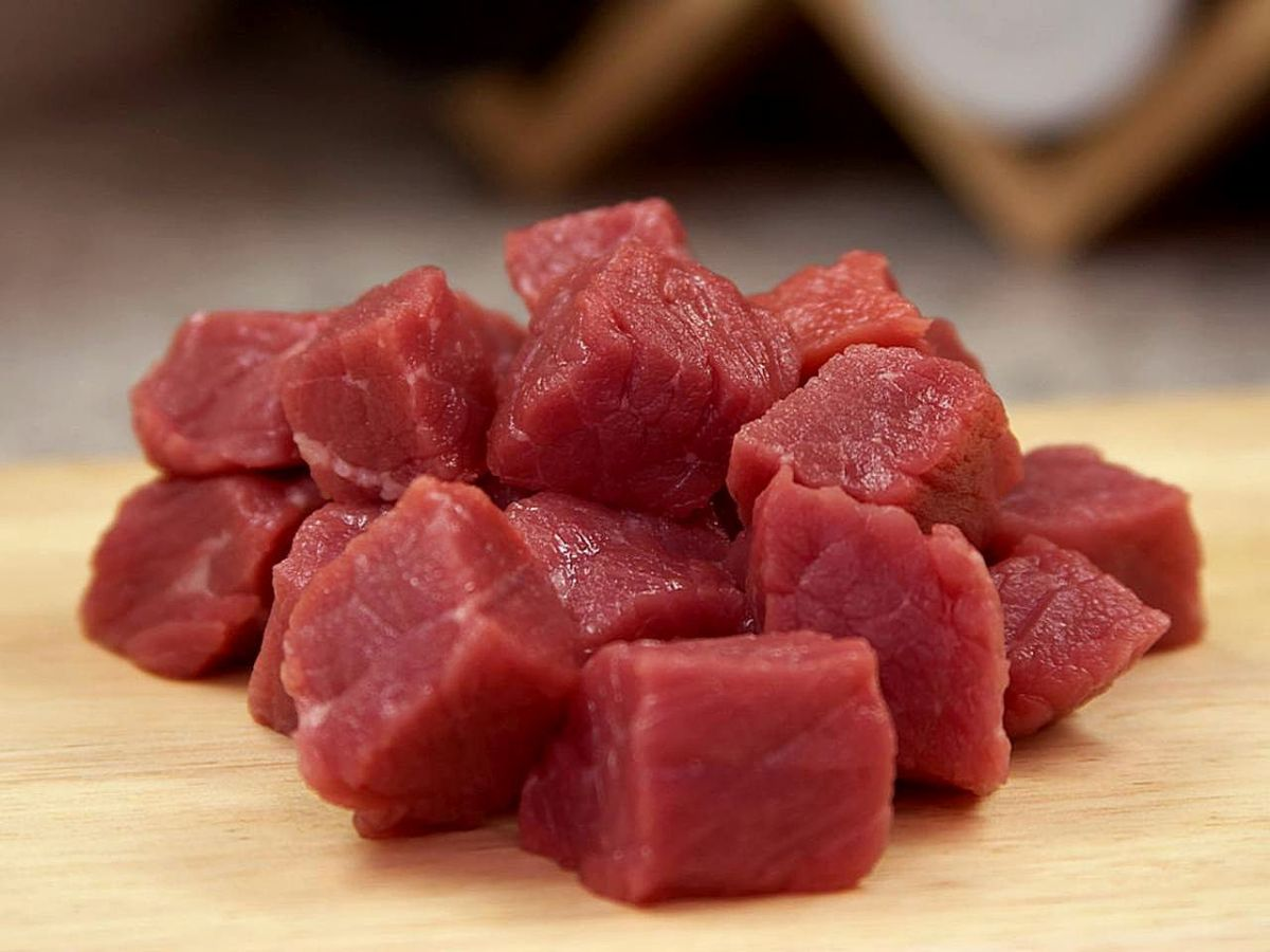 Fresh meat.
