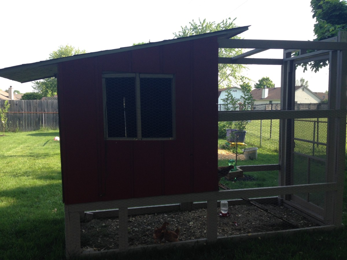 The windows will be fitted with plexi-glass instead of plywood to let light in even when the windows are shut.