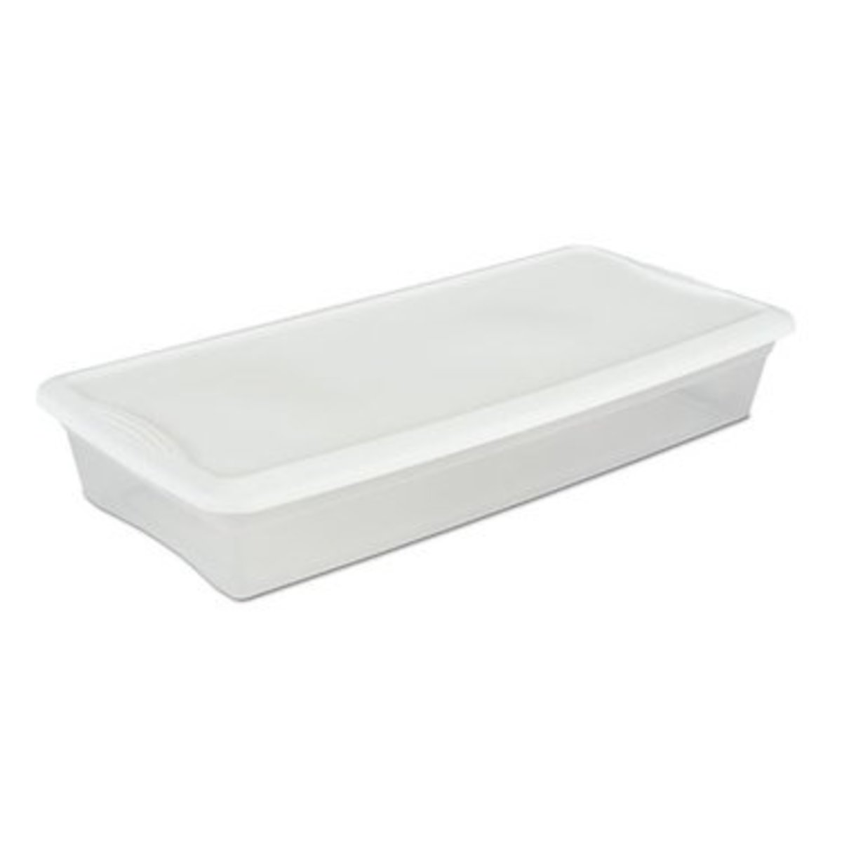 A 41 qt underbed tub,