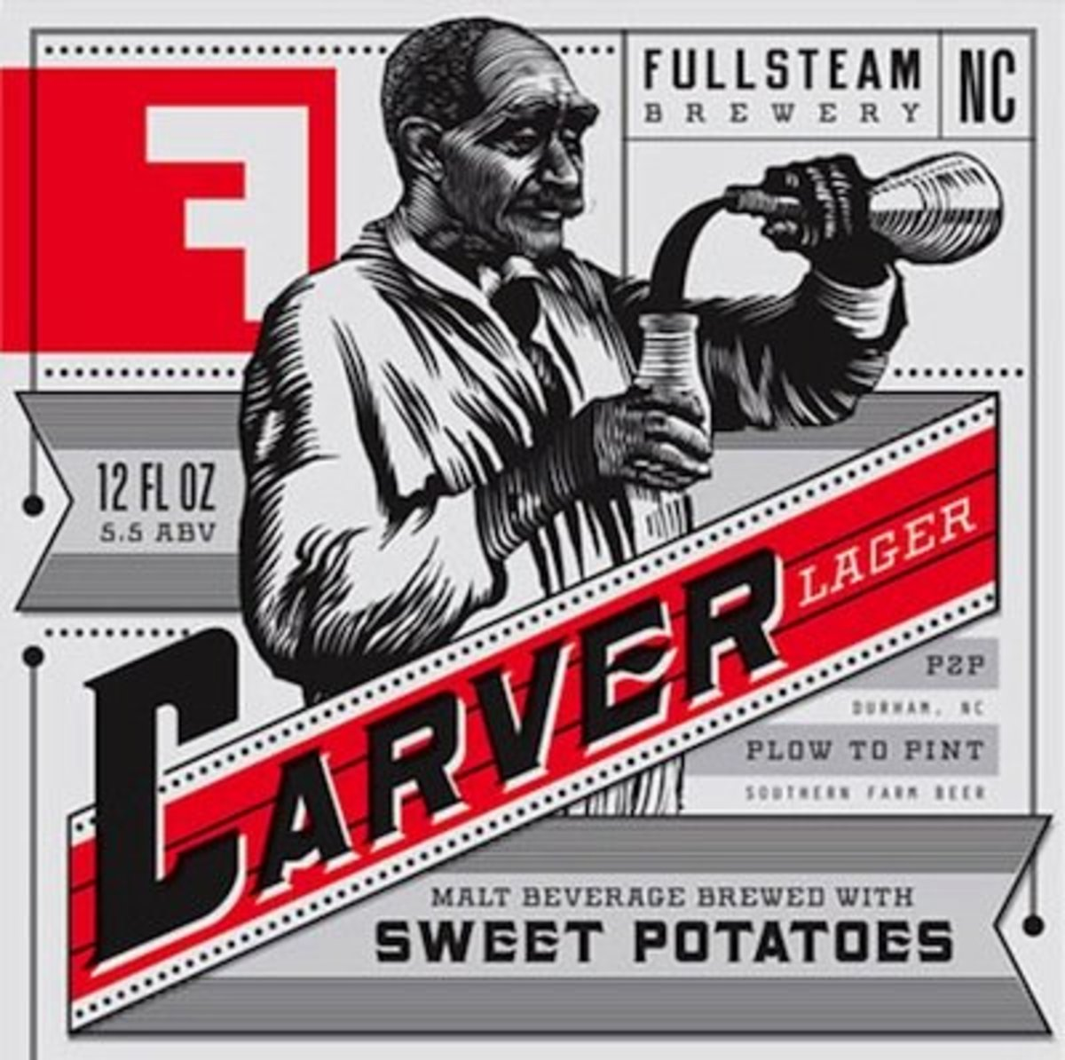 Carver, the sweet potato lager, makes a sweet name for a male dog.