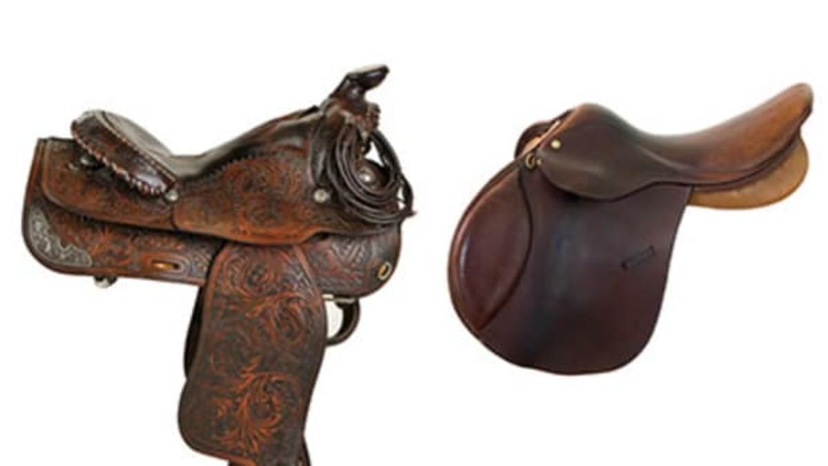 Comparison Western Vs. English Saddles