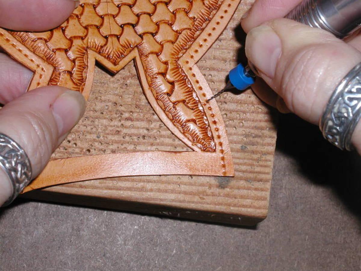 making-a-falconry-hood