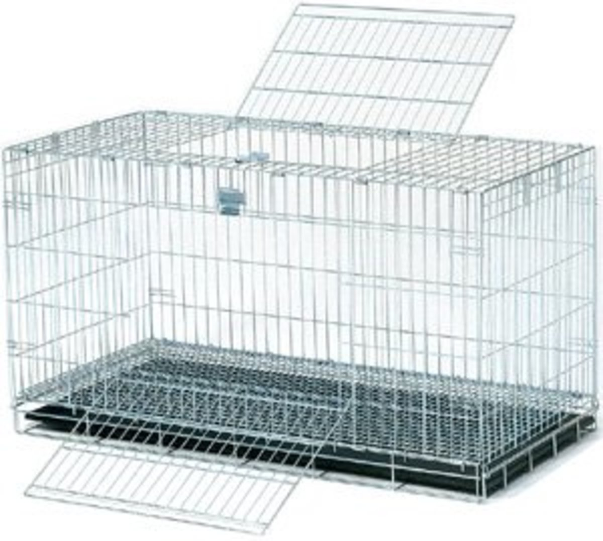 Wabbitat cages work well for diagnostic cages - they're very small but the cat won't be in it for more than a day (and if no urine and/or stool is produced in that time consult your vet!)