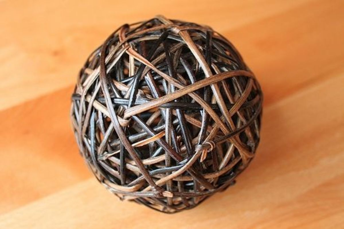 Willow Ball Rabbit Toy