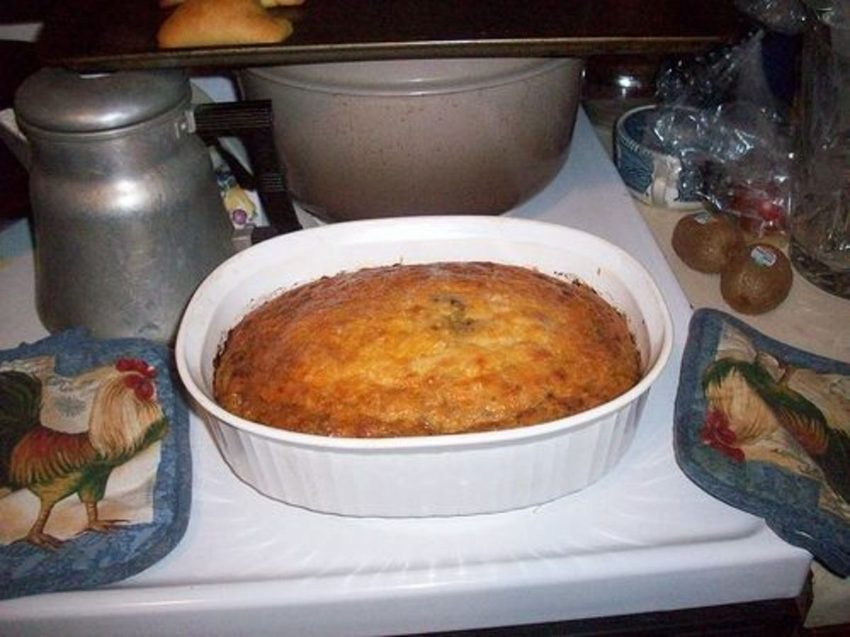 Egg and Vegetable Quiche