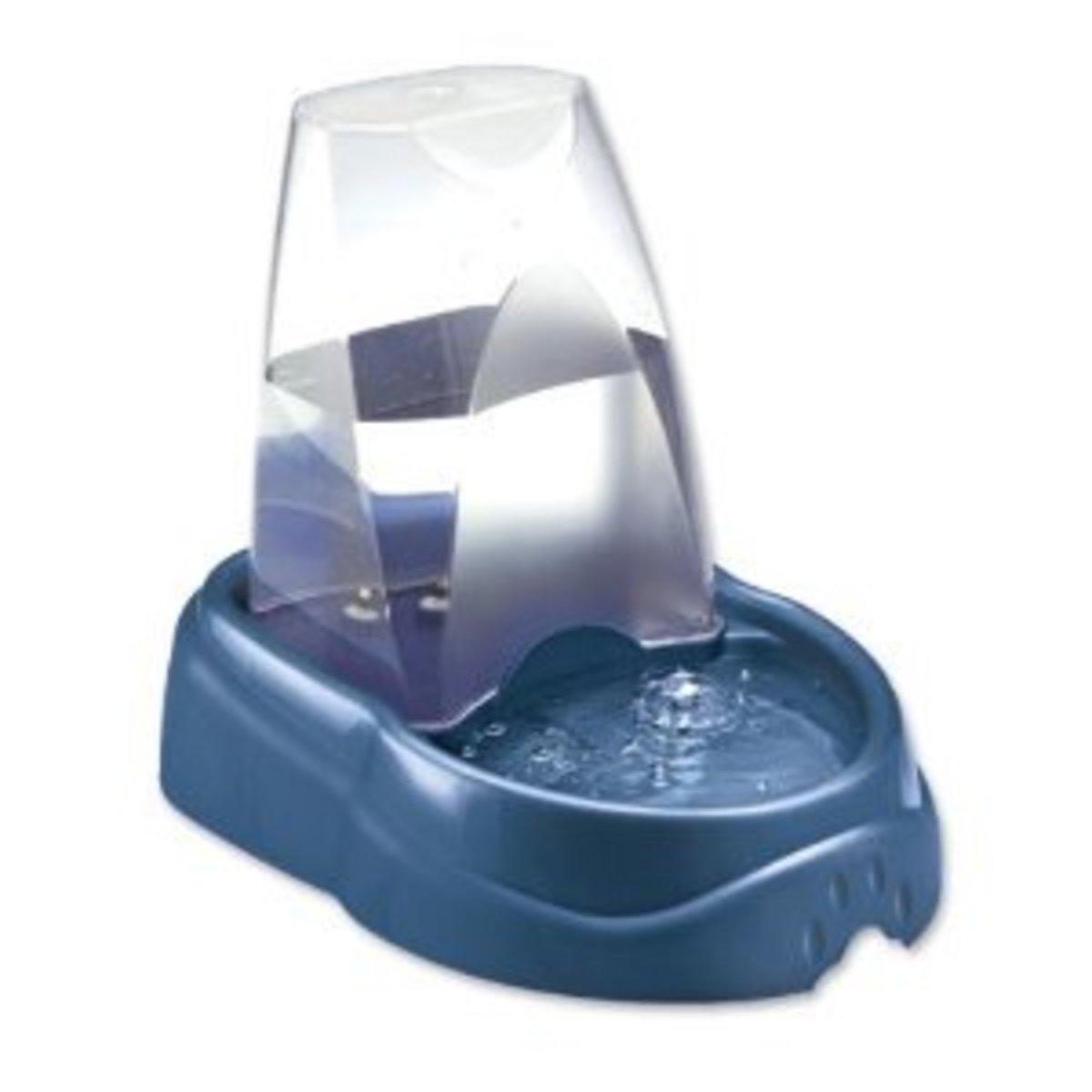 Petmate Ultra Bubbler Watering System, Medium, Peacock
