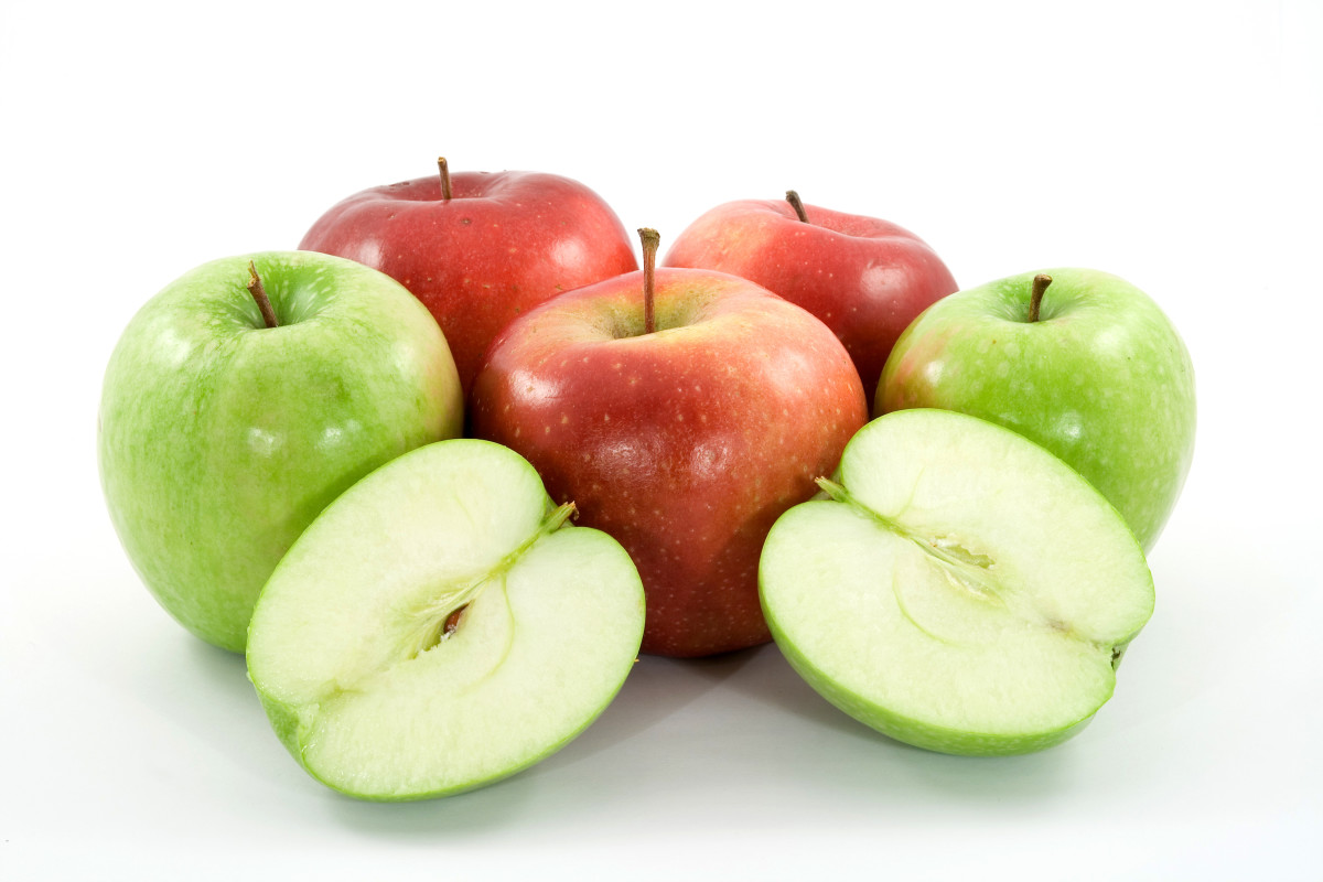 The seeds of apples and some other fruits can be toxic to dogs.