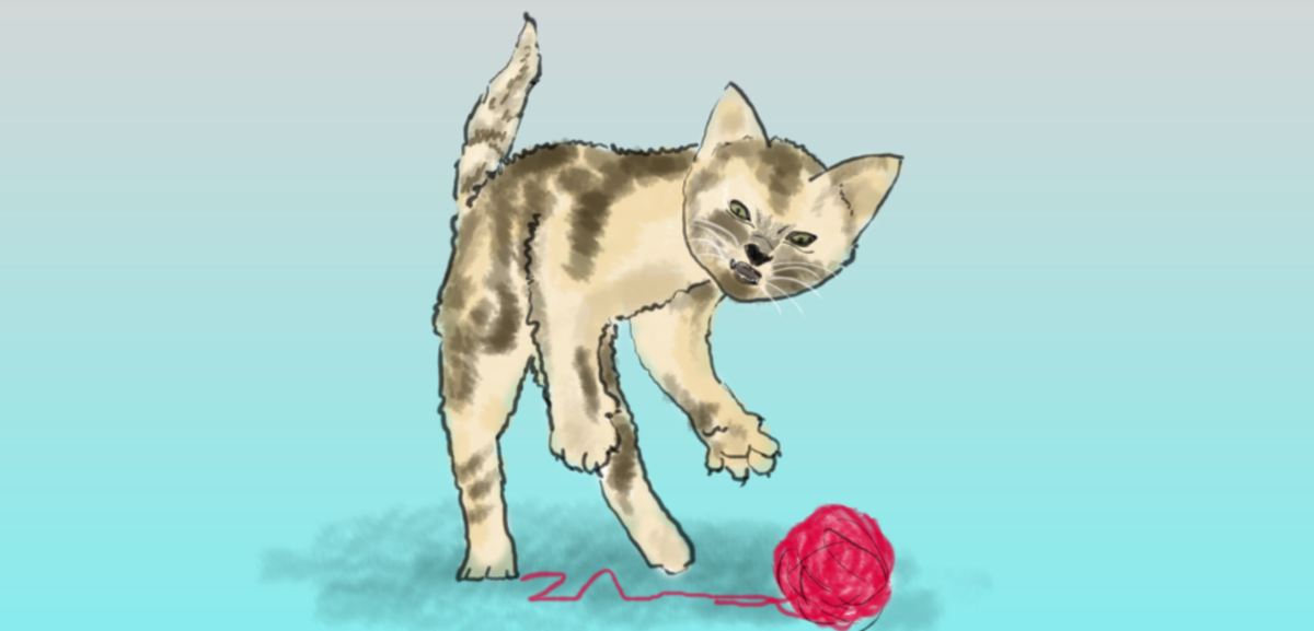 Cats that play fierce hunting games