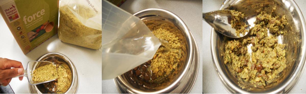 Preparing Dry ORIJEN Food