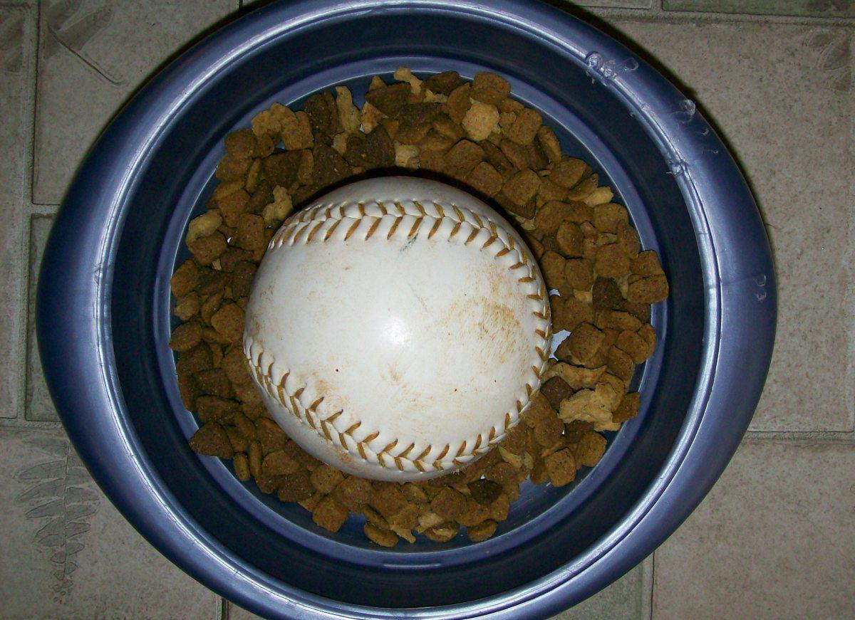 Use a softball.