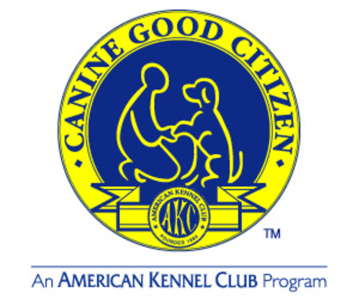 AKC's Canine Good Citizen logo.