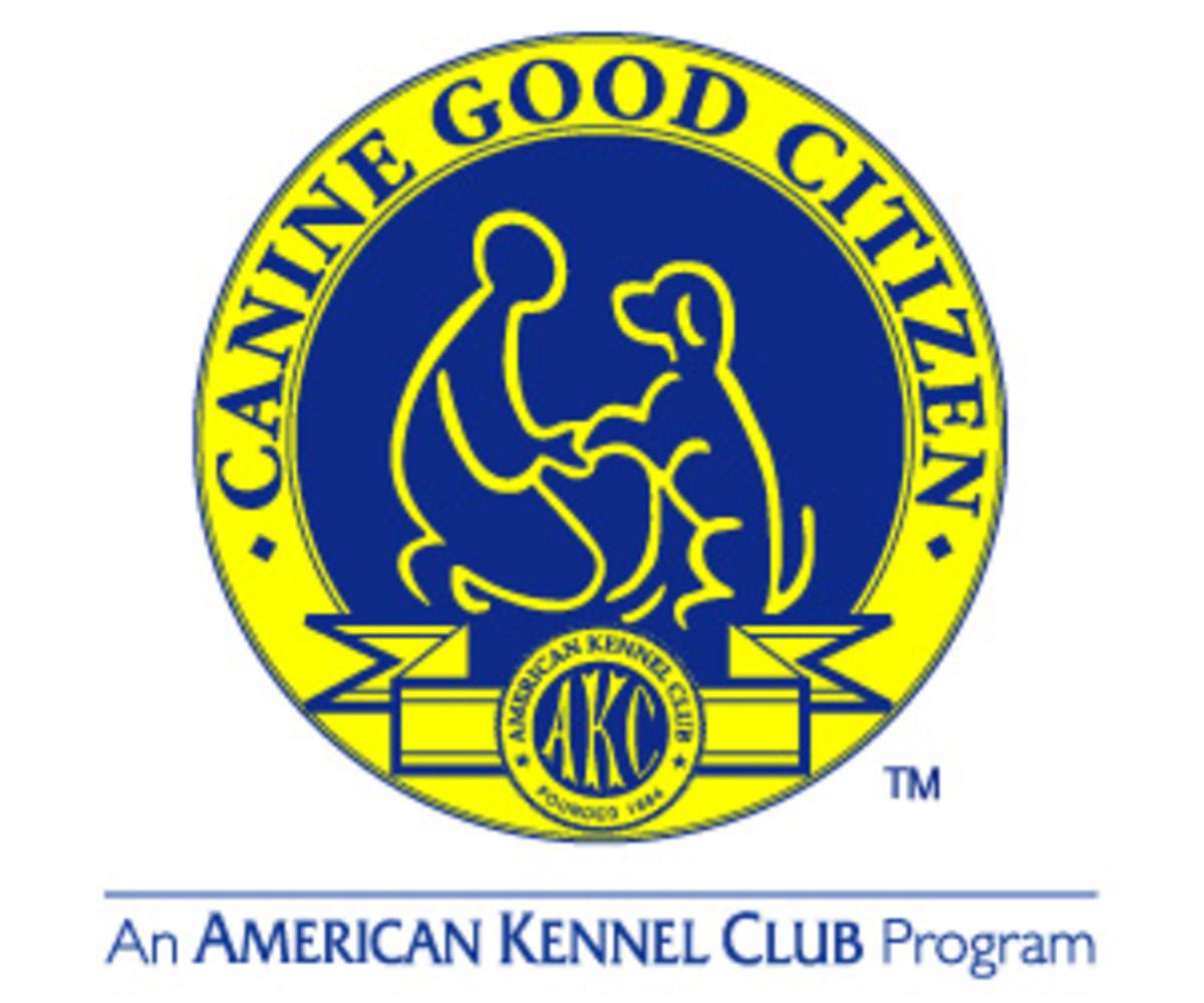 AKC's Canine Good Citizen logo.