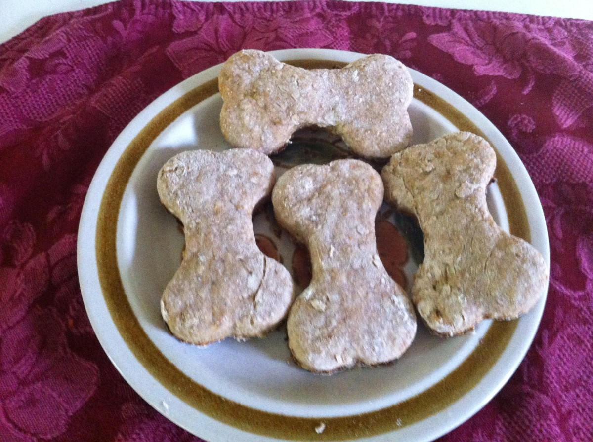 What dog doesn't love peanut butter cookies?