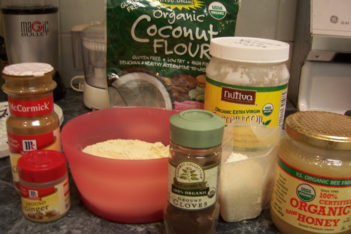 Some ingredients I use in my pie.