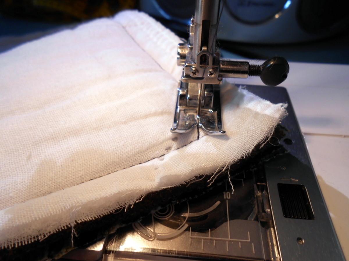 Coser las capas juntas