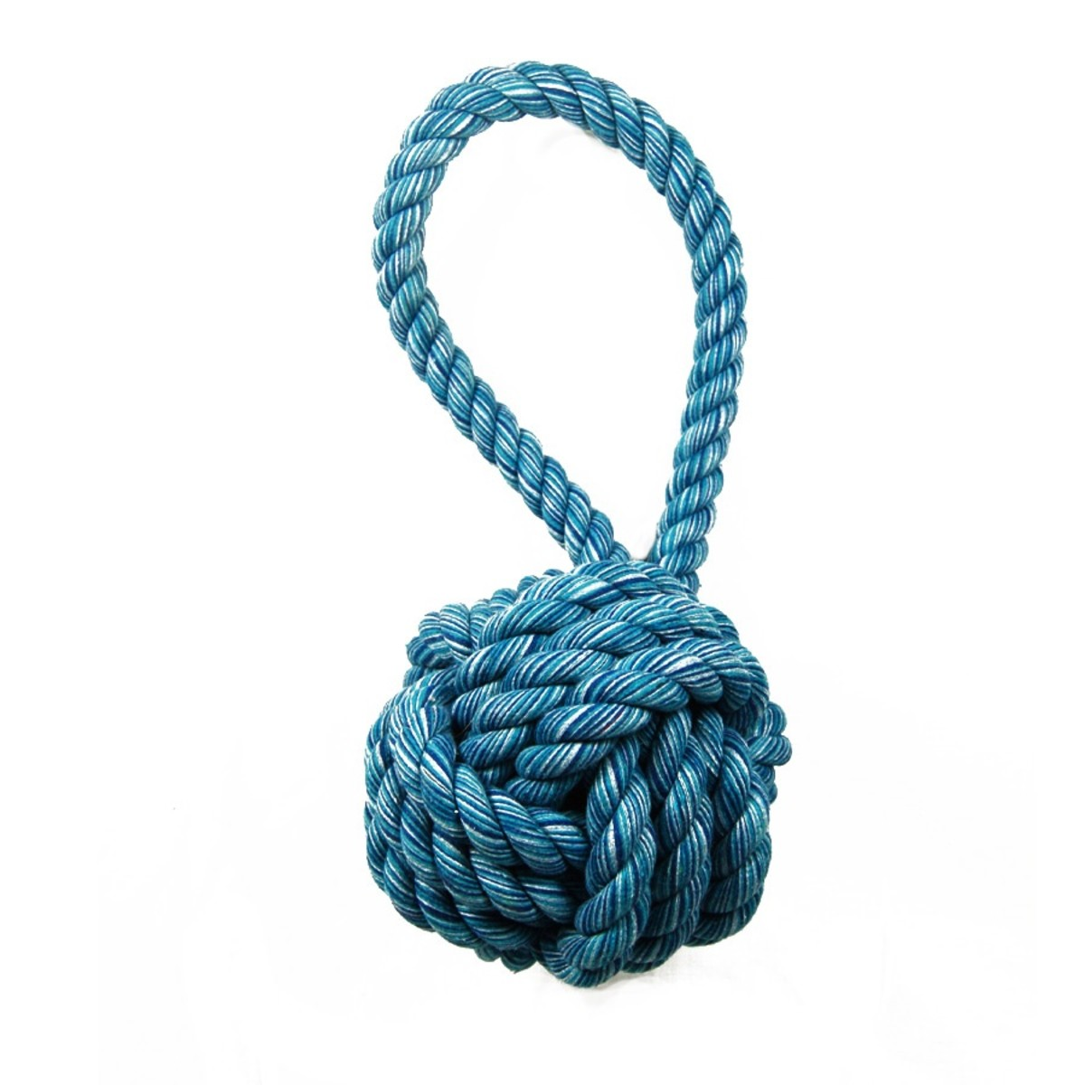 Ropes with knots last much longer than those without.