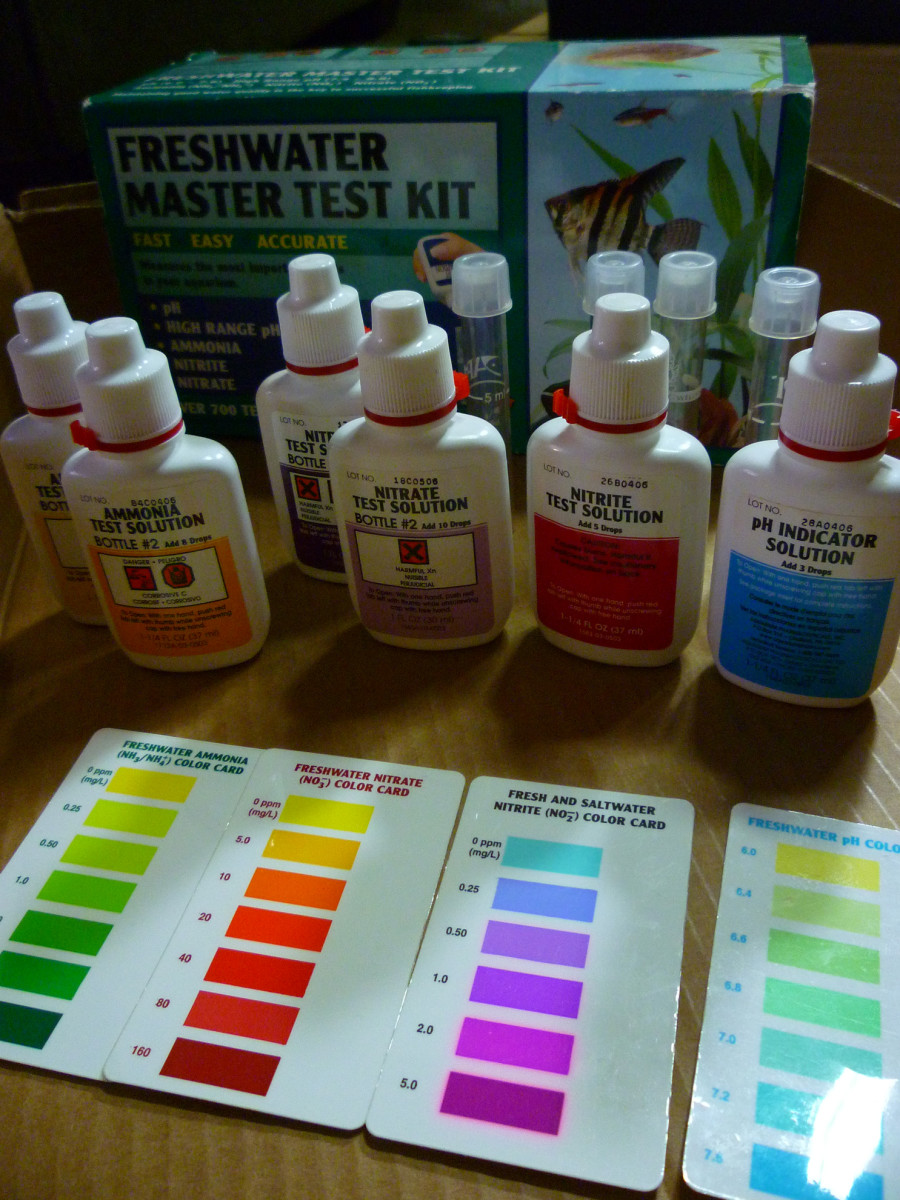 Aquaponic test kit.