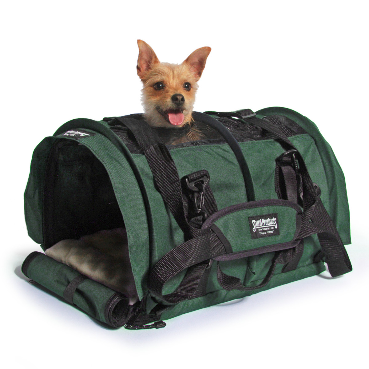 This super light, super strong and easy-to-handle carrier is a top pick and one I use for my own dog.
